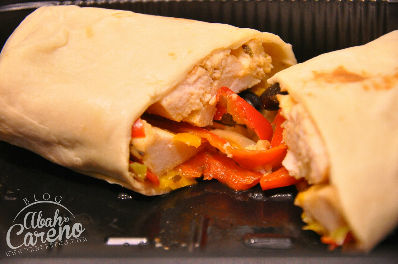 Healthy 05 - Cajun Chicken Wrap, Black Beans & Roasted Pepper (RM14.50)