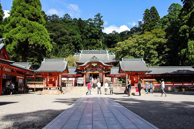 Tour di Kirishima Shrine