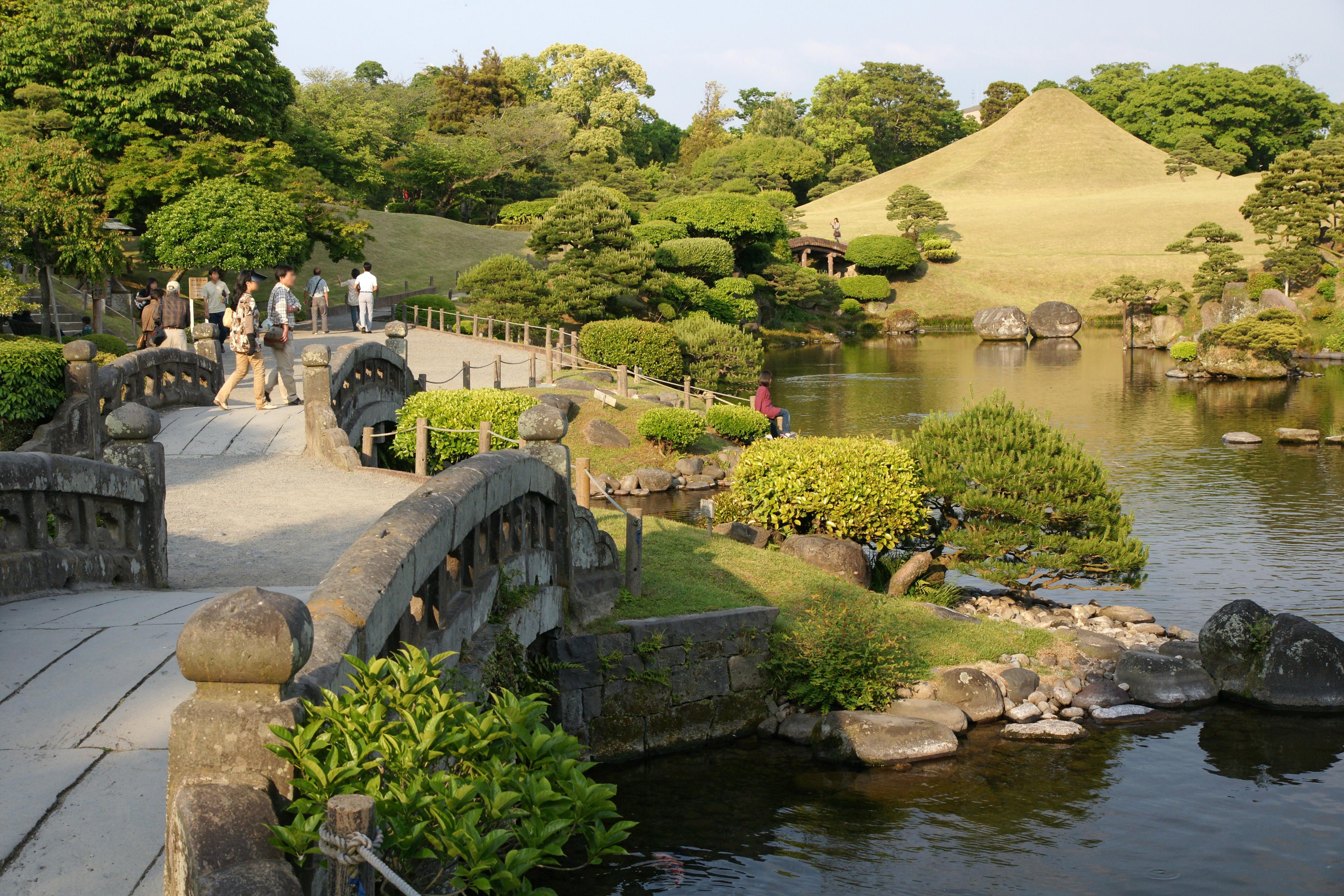 Visit Suizenji Park