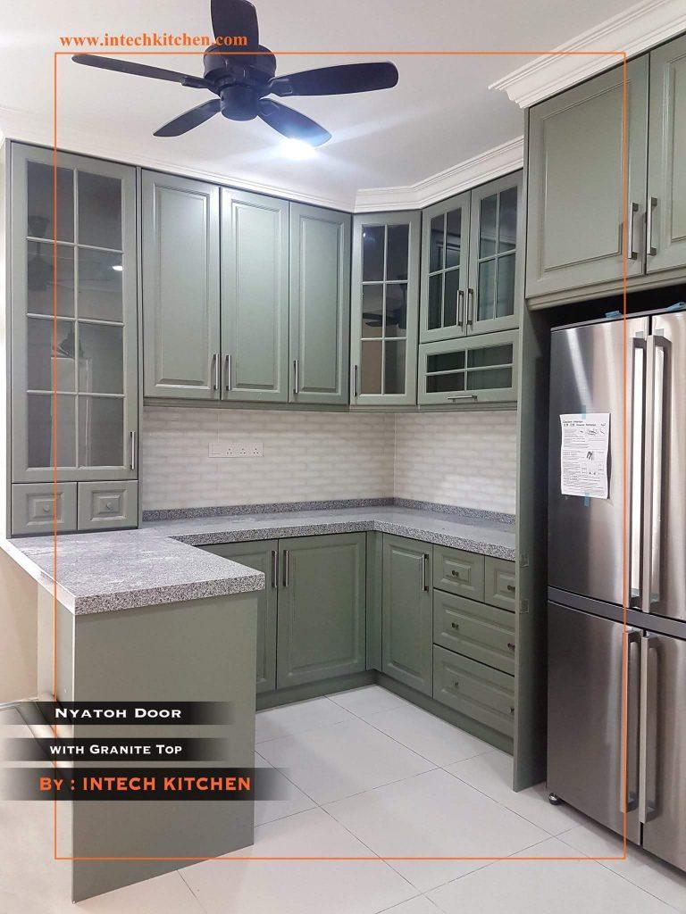 Kabinet  dapur  dari Intech Kitchen tawar harga kilang