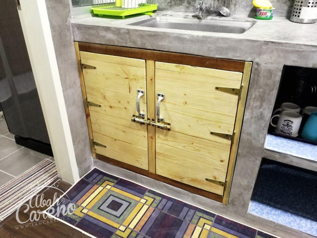 Siap Dah Pasang Pintu Kitchen Cabinet Yang Aku Tempah Dengan Tukang Kayu Pallet Blog Abah Careno